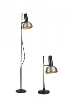 Oscar Torlasco 1950s Oscar Torlasco Floor Lamp Model for Lumi - 1145211