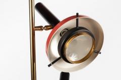 Oscar Torlasco Monumental Oscar Torlasco 3 Cone Floor Lamp for Lumi circa 1958 - 1205195