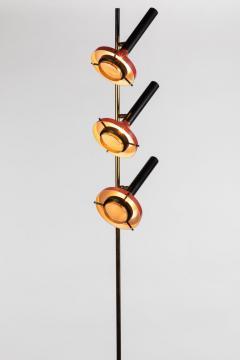Oscar Torlasco Monumental Oscar Torlasco 3 Cone Floor Lamp for Lumi circa 1958 - 1205197
