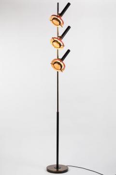 Oscar Torlasco Monumental Oscar Torlasco 3 Cone Floor Lamp for Lumi circa 1958 - 1205200