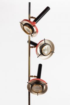 Oscar Torlasco Monumental Oscar Torlasco 3 Cone Floor Lamp for Lumi circa 1958 - 1205201