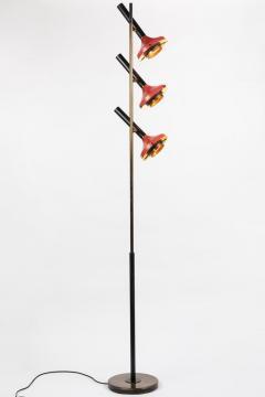 Oscar Torlasco Monumental Oscar Torlasco 3 Cone Floor Lamp for Lumi circa 1958 - 1205203