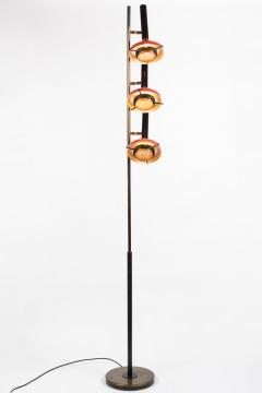 Oscar Torlasco Monumental Oscar Torlasco 3 Cone Floor Lamp for Lumi circa 1958 - 1205204