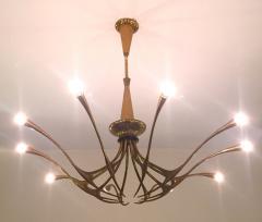 Oscar Torlasco OSCAR TORLASCO Model 392 ceiling lamp circa 1955 - 977562