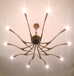 Oscar Torlasco OSCAR TORLASCO Model 392 ceiling lamp circa 1955 - 977563