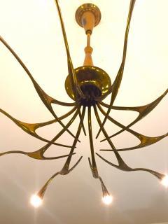 Oscar Torlasco OSCAR TORLASCO Model 392 ceiling lamp circa 1955 - 977564