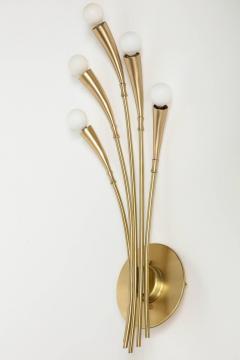 Oscar Torlasco Oscar Torlasco Satin Brass Sconces - 985494