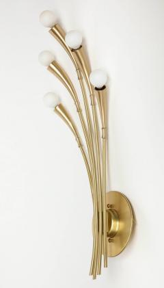 Oscar Torlasco Oscar Torlasco Satin Brass Sconces - 985495