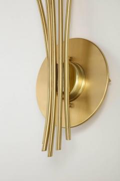 Oscar Torlasco Oscar Torlasco Satin Brass Sconces - 985497