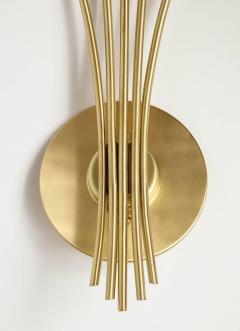 Oscar Torlasco Oscar Torlasco Satin Brass Sconces - 985498