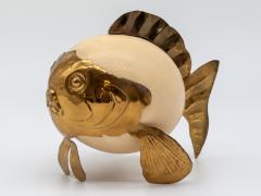 Ostrich Egg Blowfish - 1667938