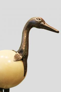 Ostrich egg sculpture - 894941