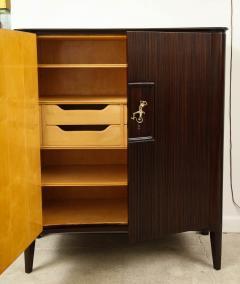 Osvaldo Borsani 2 Door Cabinet by Osvaldo Borsani Lucio Fontana for ABV - 1666984