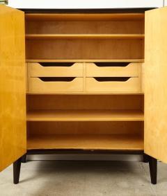 Osvaldo Borsani 2 Door Cabinet by Osvaldo Borsani Lucio Fontana for ABV - 1666985