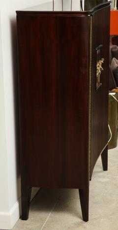 Osvaldo Borsani 2 Door Cabinet by Osvaldo Borsani Lucio Fontana for ABV - 1666986