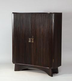 Osvaldo Borsani 2 Door Pleated Cabinet 6426 by Osvaldo Borsani for ABV - 1666704