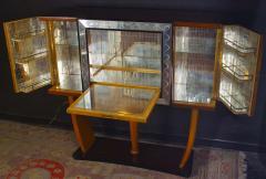 Osvaldo Borsani Art Deco Italian Rare Bar Cabinet Attributed to Osvaldo Borsani - 1636718