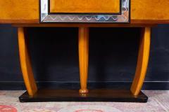 Osvaldo Borsani Art Deco Italian Rare Bar Cabinet Attributed to Osvaldo Borsani - 1636766