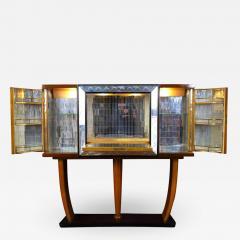 Osvaldo Borsani Art Deco Italian Rare Bar Cabinet Attributed to Osvaldo Borsani - 1637700