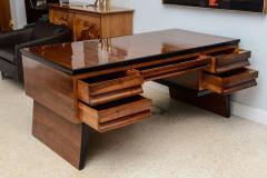 Osvaldo Borsani Fine Italian Modern Walnut Executive Desk - 106315