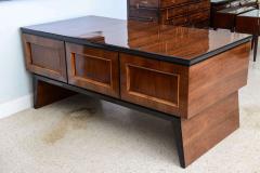Osvaldo Borsani Fine Italian Modern Walnut Executive Desk - 106319