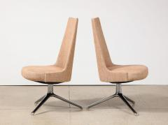 Osvaldo Borsani High Back Swivel Chairs by Osvaldo Borsani Valeria Fantoni - 2082780