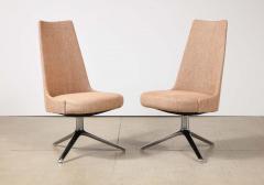 Osvaldo Borsani High Back Swivel Chairs by Osvaldo Borsani Valeria Fantoni - 2082781