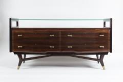 Osvaldo Borsani Italian Mid Century Sideboard Console Cabinet Osvaldo Borsani - 1569634