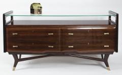 Osvaldo Borsani Italian Mid Century Sideboard Console Cabinet Osvaldo Borsani - 1569667
