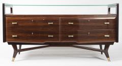 Osvaldo Borsani Italian Mid Century Sideboard Console Cabinet Osvaldo Borsani - 1569668