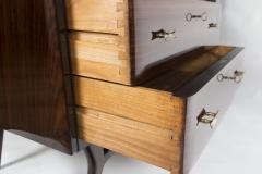 Osvaldo Borsani Italian Mid Century Sideboard Console Cabinet Osvaldo Borsani - 1569694