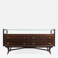 Osvaldo Borsani Italian Mid Century Sideboard Console Cabinet Osvaldo Borsani - 1572662
