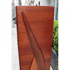 Osvaldo Borsani Modernist Four Door Cabinet by Oswaldo Borsani - 1135977