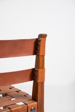 Osvaldo Borsani Osvaldo Borsani Chairs in Wood and Letaher rare - 1977671