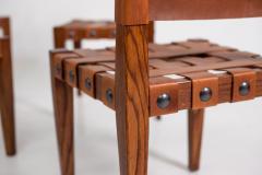 Osvaldo Borsani Osvaldo Borsani Chairs in Wood and Letaher rare - 1977673