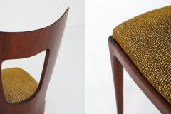 Osvaldo Borsani Osvaldo Borsani Dining Chairs in Mahogany 1950s - 1259518