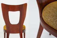Osvaldo Borsani Osvaldo Borsani Dining Chairs in Mahogany 1950s - 1259524