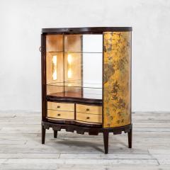 Osvaldo Borsani Osvaldo Borsani Luminous Bar Cabinet in Wood and painted Wood - 2095726