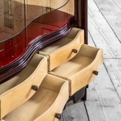 Osvaldo Borsani Osvaldo Borsani Luminous Bar Cabinet in Wood and painted Wood - 2095729