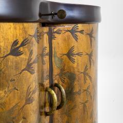 Osvaldo Borsani Osvaldo Borsani Luminous Bar Cabinet in Wood and painted Wood - 2095731