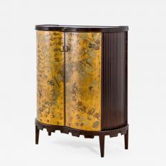 Osvaldo Borsani Osvaldo Borsani Luminous Bar Cabinet in Wood and painted Wood - 2098999