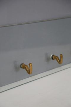Osvaldo Borsani Osvaldo Borsani Rack wall for Tecno in brass and Glass 1950s - 1511360