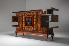 Osvaldo Borsani Osvaldo Borsani Walnut Art Deco Credenza 1940s - 1585509
