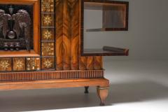 Osvaldo Borsani Osvaldo Borsani Walnut Art Deco Credenza 1940s - 1585512