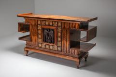 Osvaldo Borsani Osvaldo Borsani Walnut Art Deco Credenza 1940s - 1585516
