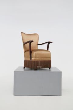 Osvaldo Borsani Osvaldo Borsani armchair for ABV beige in original fabric published 1950s - 1557546