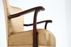 Osvaldo Borsani Osvaldo Borsani armchair for ABV beige in original fabric published 1950s - 1557548