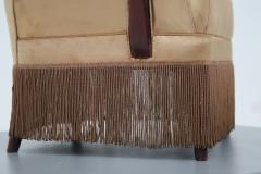 Osvaldo Borsani Osvaldo Borsani armchair for ABV beige in original fabric published 1950s - 1557550