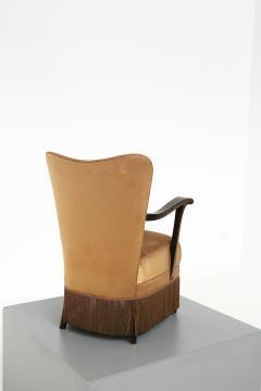 Osvaldo Borsani Osvaldo Borsani armchair for ABV beige in original fabric published 1950s - 1557551