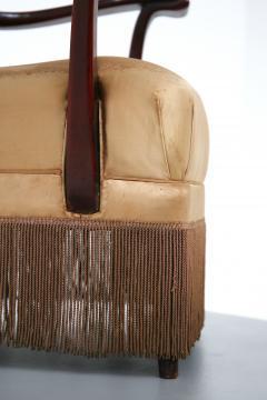 Osvaldo Borsani Osvaldo Borsani armchair for ABV beige in original fabric published 1950s - 1557552